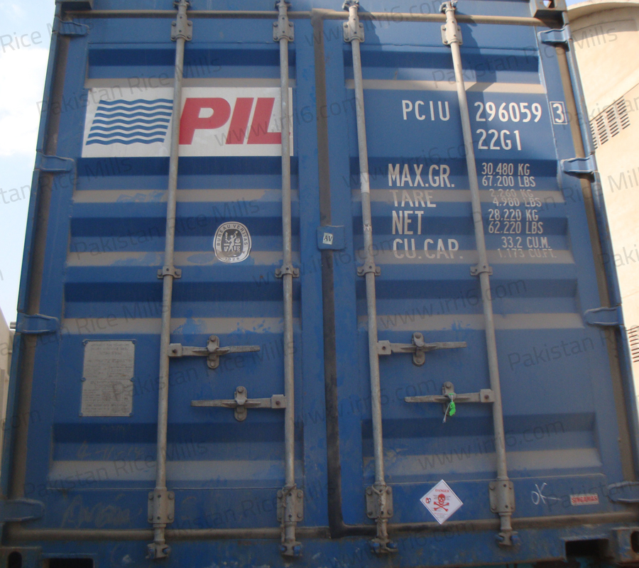 Shipment for Pakistan Long Grain IRRI-6 White Rice, 10% Broken Rice Exporters.