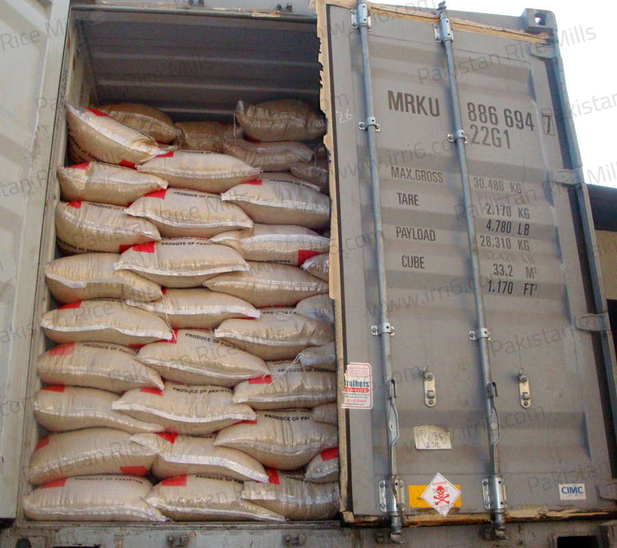 Shipment for Pakistan Long Grain IRRI-6 Parboiled Rice, 5% Broken Rice Exporters.