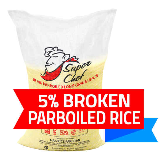 Pakistan long grain irri6 parboiled rice, irri6 sella rice, 5% broken rice, 50 kgs pp bag.