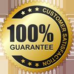 Top Quality 100% Guarantee & Customer Satisfaction